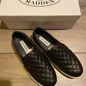 New Steve Madden Leather Slip-On's (8.5)